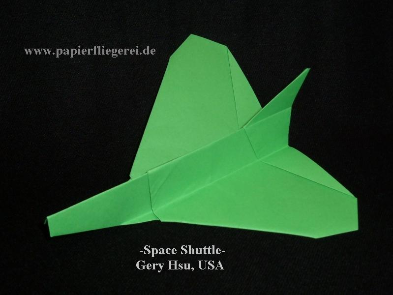Papierflieger, SpaceShuttle-USA