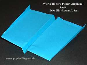 Papierflieger World Record Paper Plane, USA