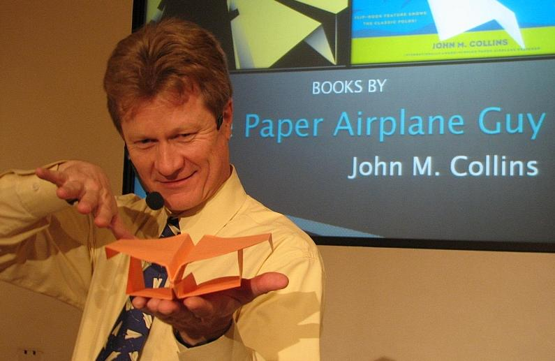 John M. Collins - The Paper Airplane Guy